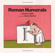 Cover of: Roman numerals | David A. Adler