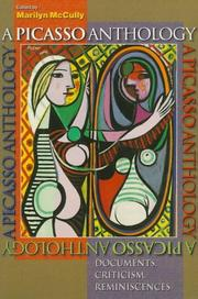 Cover of: A Picasso Anthology | Marilyn McCully