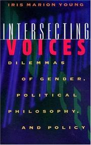 Cover of: Intersecting voices | Iris Marion Young