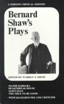 Bernard Shaw's Plays (Heartbreak House / Major Barbara / Saint Joan / Too True to be Good)