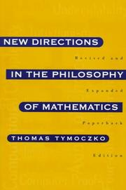 Cover of: New Directions in the Philosophy of Mathematics | Thomas Tymoczko