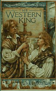 Cover of: The Western King (The Rune Blade Trilogy, Book 2) by Ann Marston