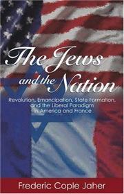 Cover of: The Jews and the Nation | Frederic Cople Jaher