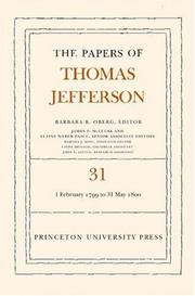 Cover of: Papers by Thomas Jefferson