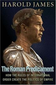 Cover of: The Roman predicament | James, Harold