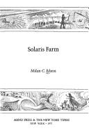 Cover of: Solaris Farm by Milan C. Edson