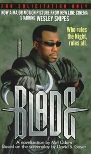 Cover of: Blade by Mel Odom
