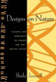 Cover of: Designs on nature by Sheila Jasanoff