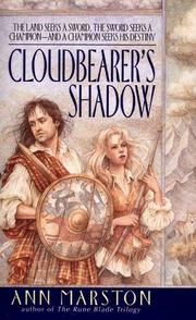Cover of: Cloudbearer's Shadow (Sword in Exile, Book 1) | Ann Marston