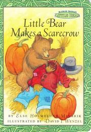 Little Bear makes a scarecrow