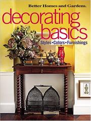 Decorating Basics