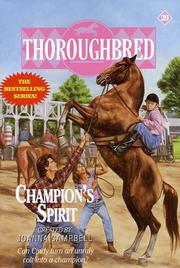 Cover of: Champion's Spirit by Joanna Campbell