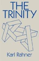 Cover of: The Trinity | Rahner, Karl