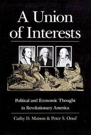 Cover of: A union of interests | Cathy D. Matson