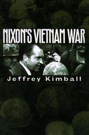 Cover of: Nixon's Vietnam War | Jeffrey P. Kimball