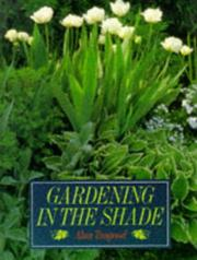 Cover of: Gardening in the Shade | Alan R. Toogood