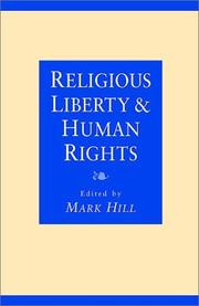 Cover of: Religious Liberty and Human Rights | Mark Hill
