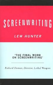 Cover of: Screenwriting | Lew Hunter