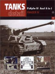 Cover of: Panzer IV PzKpfw Ausf A-J by Jonathan Forty