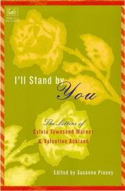 Cover of: I'll stand by you by Warner, Sylvia Townsend