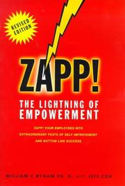 Cover of: Zapp! by Jeff Cox