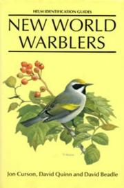 Cover of: New World warblers | Jon Curson