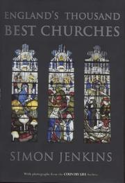 Cover of: England's thousand best churches | Jenkins, Simon.