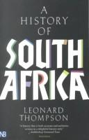 Cover of: A history of South Africa | Leonard Monteath Thompson
