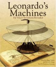 Cover of: Leonardo's Machines by Domenico Laurenza