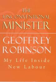 Cover of: The unconventional minister by Robinson, Geoffrey