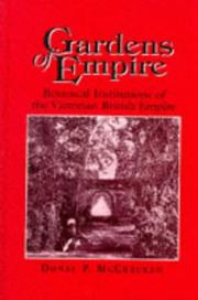Cover of: Gardens of empire by Donal P. McCracken