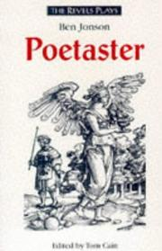 Cover of: Poetaster (The Revels Plays) | Ben Jonson