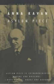 Cover of: Asylum piece and other stories | Anna Kavan
