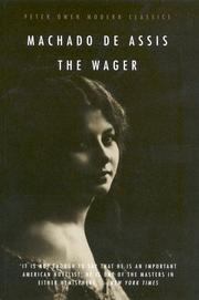 Cover of: The Wager by Machado de Assis