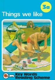 Cover of: Things We Like | Unauthored