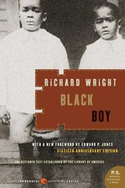 Cover of: Black Boy (P.S.) by Richard T. Wright