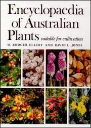Cover of: Encyclopedia of Australian Plants by W. Rodger Elliot