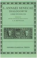 Cover of: Dialogi by Seneca the Younger