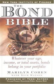 Cover of: The bond bible by Marilyn Cohen