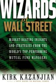 Cover of: Wizards of Wall Street by Kirk Kazanjian