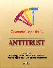 Cover of: Antitrust by Casenotes