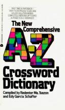 Cover of: New Comprehensive A Z Crossword Dictionary | Redentor M. Tuazon