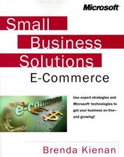 Cover of: Small Business Solutions for E-Commerce by Brenda Kienan