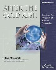 Cover of: After the Gold Rush by Steve C McConnell