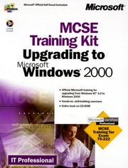 Cover of: McSe Upgrade to Microsoft Windows 2000 by Microsoft Corp.