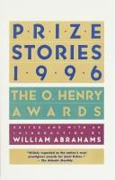 Cover of: Prize Stories 1996 | William Abrahams