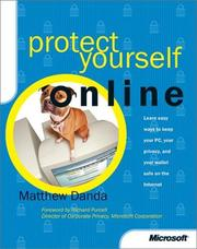 Cover of: Protect Yourself Online | Matthew Danda