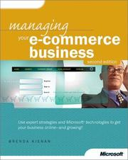 Cover of: Managing Your E-Commerce Business by Brenda Kienan