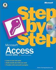 Cover of: Microsoft Access Version 2002 Step by Step by Online Training Solutions Inc.