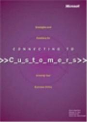 Cover of: Connecting to Customers by MICHAEL S. T HARRY BRELSFORD